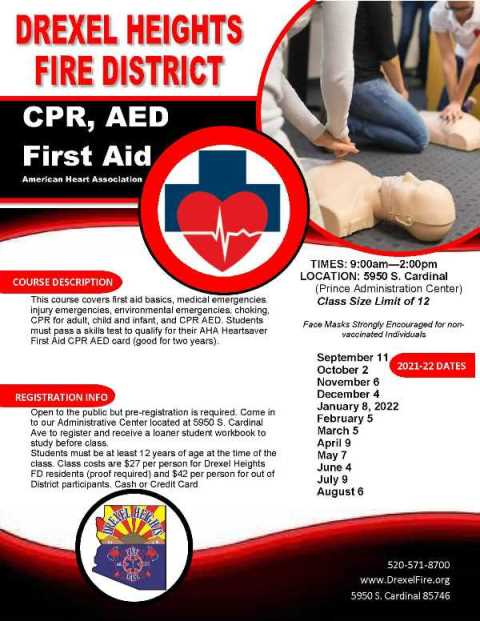 CPR AED First Aid Flyer2021-22